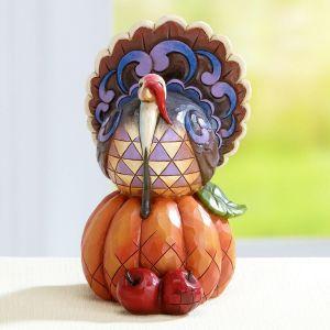 Autumn Turkey Figurine by Jim Shore