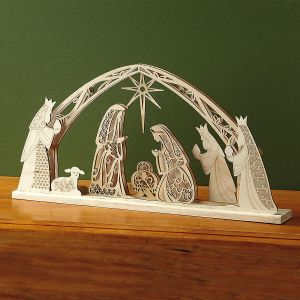 Flourish Nativity Scene