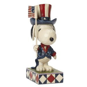 "Patriotic Snoopy™ ""Patriot""  by Jim Shore"