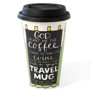 Wine Prayer Travel Mug