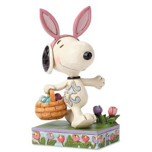 Easter Snoopy™ with Bunny Ears by Jim Shore