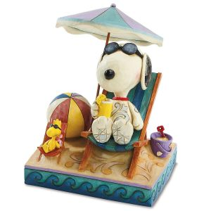 Snoopy™ at the Beach Figurine  by Jim Shore