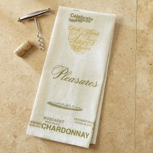 White Wine Bar Towel