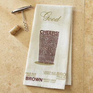Pint Glass Bar Towel