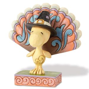 Woodstock Turkey Figurine by Jim Shore