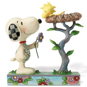 Snoopy™ with Woodstock in a Nest by Jim Shore