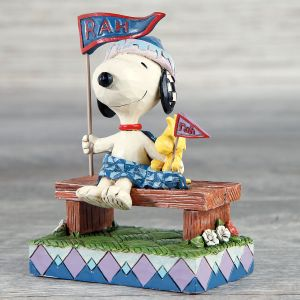 Jim Shore PEANUTS® Snoopy™ and Woodstock Rah!