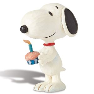 Mini Snoopy™ Birthday Figurine by Jim Shore