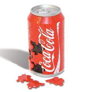 3-D Coca Cola Can Puzzle