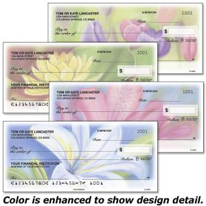 Floral Whispers Personal Checks