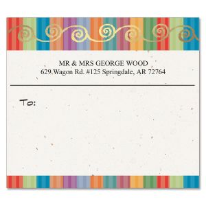 Color Caravan  Foil Package Labels