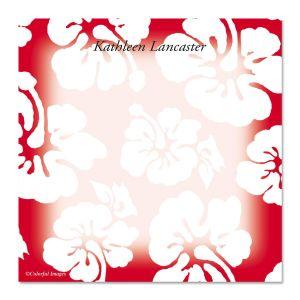 Hawaiian Print Cube  Refill