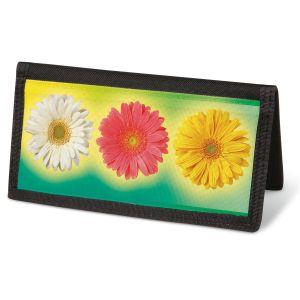 Illuminated Petals  Checkbook Cover - Non-Personalized