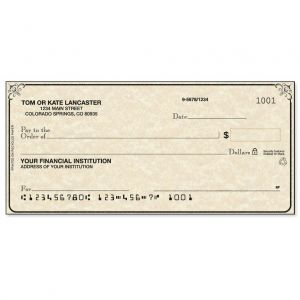 Antique Personal Checks