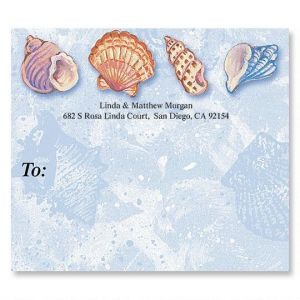 Ocean Jewels Package Labels