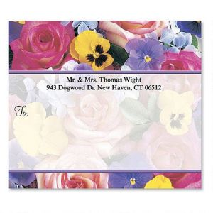 Beautiful Blossoms Package Labels