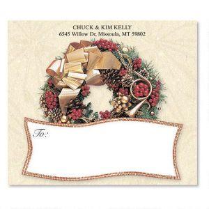 Wreath Rhapsody  Package Labels