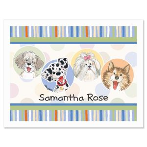 Wags™  Personalized  Note Cards