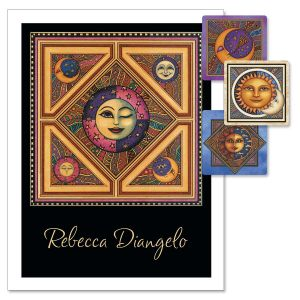Sun & Moon Personalized Note Cards
