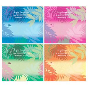 Bold Tropics Package Labels   (4 Designs)