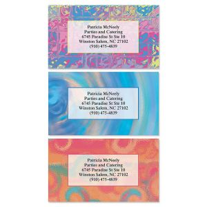 Rippled Glass Business Cards  (3 Designs)
