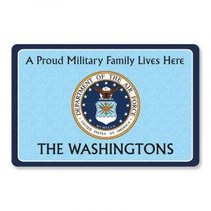 Proud Military Family  Doormat