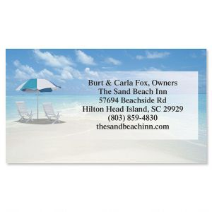 Calm Seas Business Cards