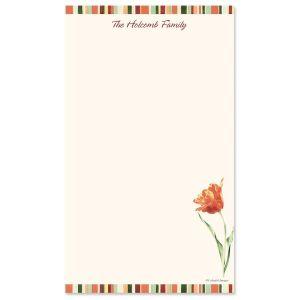 Elegant Tulips Notepad