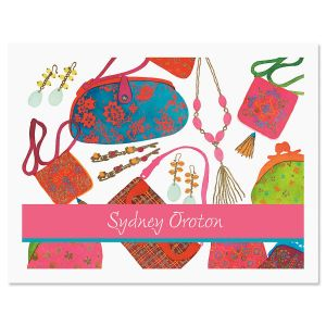 Handbags  Personalized Note Cards