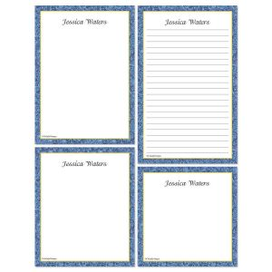 Granite & Gold Memo Pad Set