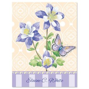 Tapestry Personalized Note Cards