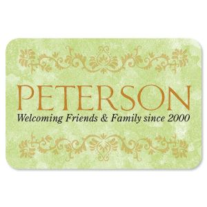 Welcoming Friends  and Family Personalized  Doormat