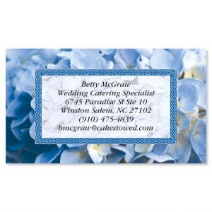 Hydrangea Business Cards