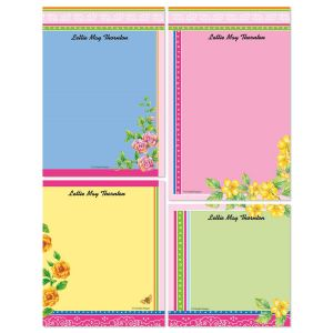 Color Bandana Memo Pad Set