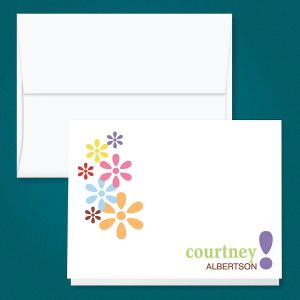Hopscotch Personalized Note Cards