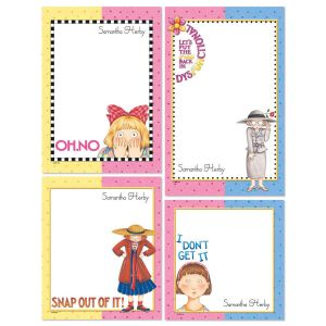 Oh No! Personalized Stationery Memo Set
