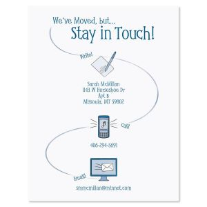 Stay in Touch  Postcards