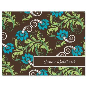 Razzle Dazzle Personalized Note Cards