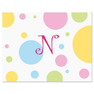 Dotty Personalized Note Cards