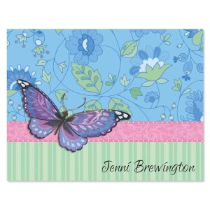 Blush  Personalized Note Cards