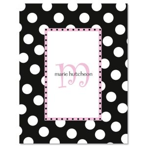 Leeza Initial Personalized Note Cards