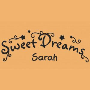 Sweet Dreams Vinyl Wall Art