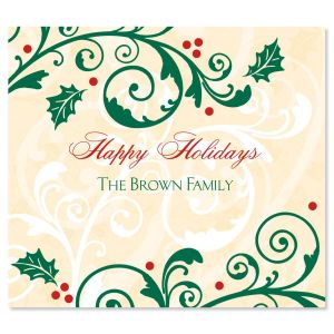 Fine Holiday  Personalized  Goodie Labels