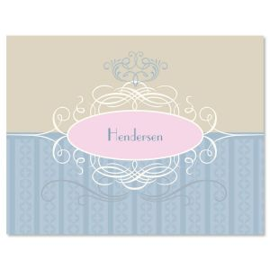 Enchanting Personalized  Note Cards