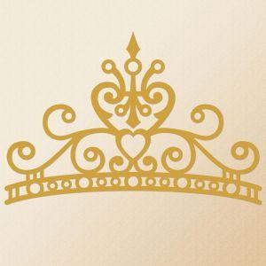 Crown Nonpersonalized  Vinyl Wall D&#233cor