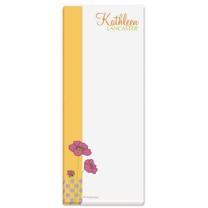 Poppy Memo Pads  (3 colors)