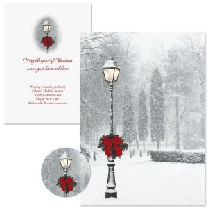 Snowy Holiday Christmas Cards