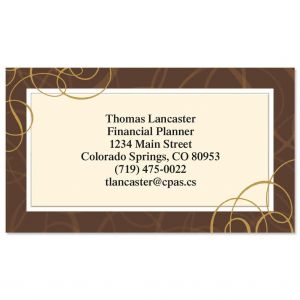 All Natural  Business Cards