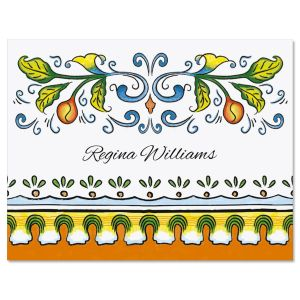 Castillo Personalized  Note Cards