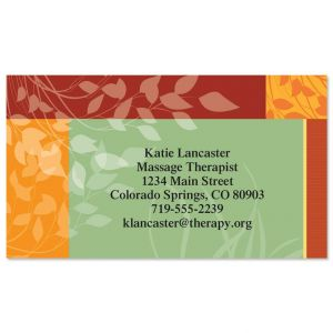 Relax  Business Cards